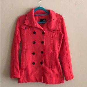 Hurley size small coat with detachable hood